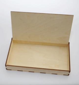 Пенал деревянный открытый