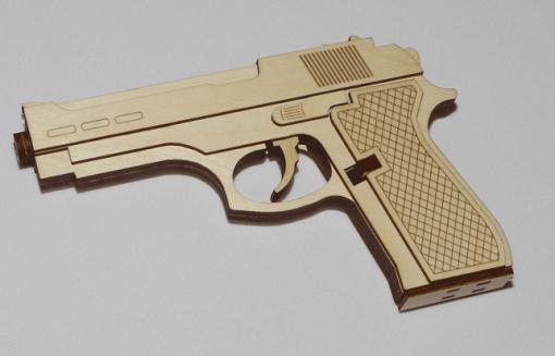 Резинкострел пистолет