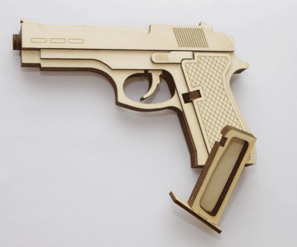 Резинкострел 5-ти зарядный