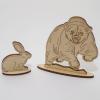 Мишени Заяц и Медведь