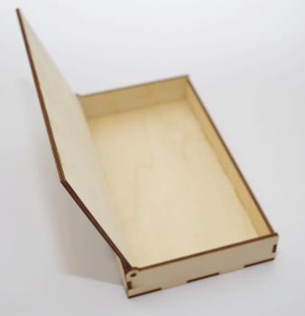 Пенал деревянный сбоку