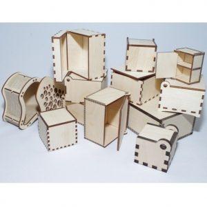 коробки из фанеры
