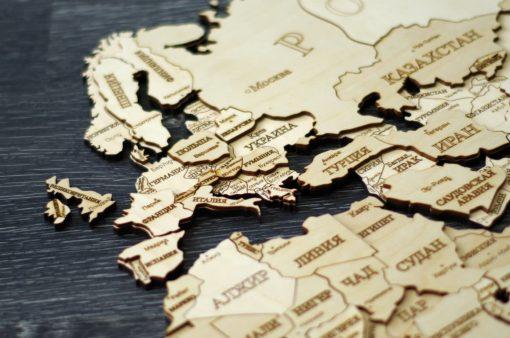 карта мира набор для самостоятельной сборки