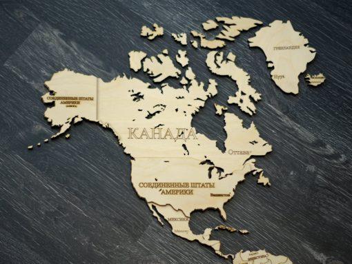 Карта мира для сборки